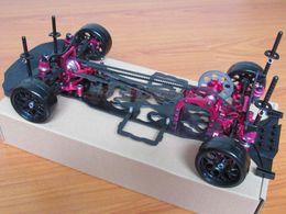 Wholesale 1 Alloy Carbon SAKURA D4 AWD WD Drift Racing Car Frame Body Kit KIT D4AWD