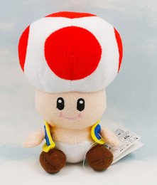 Wholesale 2016 New in Toad Super Mario Plush Doll Toy Kawaii Kids Stuffed Toys For Children Dolls Kawaii Kids Toys Dolls