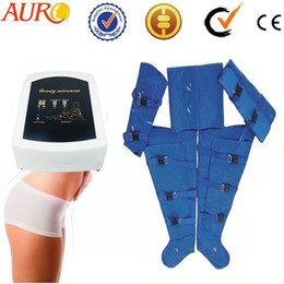 pressotherapy lymphatic drainage body slimming suit for salon use beauty machine with one year warranty Au-7007