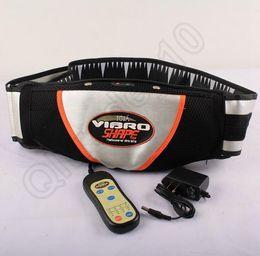 Wholesale LJJL379 Hot Sell New Heat Function Vibro Shape Slimming Massage PU Belt Slimming Machine Electric Slim