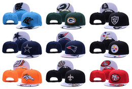 Wholesale All Team Football Cap Raiders Snapback Classic Collection Alternate Cap Team Adjustable Soccer Hat Fashion Sports Cap