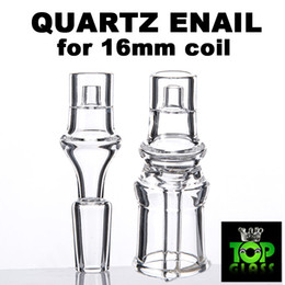 Wholesale High Quality mm Coil Electrical Domeless Quartz Nail Enail with mm mm Pure Quartz Best Flavour Ever Fast Free DHL shipping