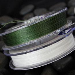 Wholesale Sufix Brand Advanced superline Green M Braided Fishing Line lovis Fibers weaves per Inch Gore R8 Precision Braiding