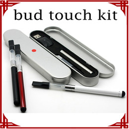 Wholesale big sale Oringinal Bud Touch Kit OIL Atomizer Pen Kit Tin Packing Vape O pen Kits CBD Touch Kit Bud Battery