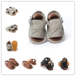 New Summer sandals baby shoes First Walker Shoes soft soled shoes soled sandals baby shoes With 3 colors 6pair