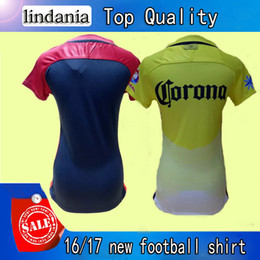 Wholesale Wholesales Soccer uniform new yellow women football shirt away best quality Any football clothes can custom