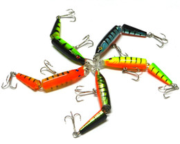 Wholesale New Arrive Multi section Simulation Bait cm Mix Color Hard Fishing Lures Sports Outdoor Accessories