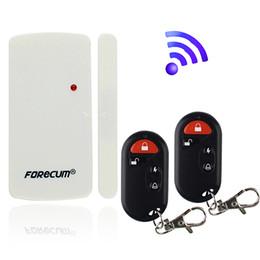 Wholesale New Wireless Motion Sensor Detector Door Window Entry Bell Chime Alert Alarm Doorbell F1672B
