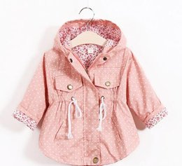 2016 New Spring Baby Clothes Baby Outerwear Infant Cartoon Coat wave printed batwing coat manufacturer wholesale of girls
