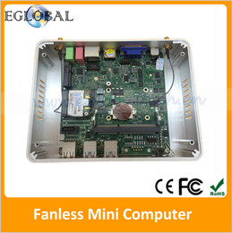 Wholesale Cheapest Fanless Small TV Box Haswell Intel Nuc i3 U Mini PC Windows HTPC Fanless Mini Computer Windows Linux Micro MiniPC