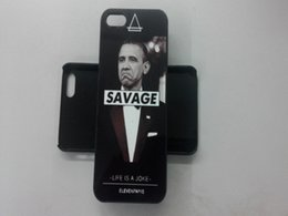 Wholesale Hot sale fantasy obama cell phone case for iphone s SE hard back case for iphone s Obama protective shell cover