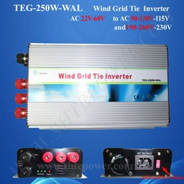 250watt on grid inverter for wind tubine, ac 24V to ac 110v 220V, profesional inverter manufacturer