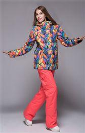 Wholesale-Quality Gsou snow 2016 new arrival ski jacketS women snowboard jacket woman sport jackets Waterproof windproof fashion ski suit