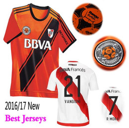 Wholesale Argentine New Riverbed season home jersey River Plate jerseys best thai quality River Plate shirt