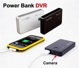 Wholesale HD P HD Power Bank DVR Hidden Spy Camera Motion Detection Video Recorder Camera battery Portable Candid Camera Security DVR