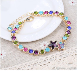 platinum crystal bracelet women pulseras mujer bohemian couple jewelry
