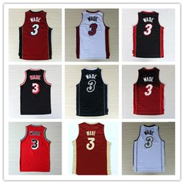 Wholesale 2016 New Material Dwayne Wade jerseys size s m l xl xxl Best Quality and Drop Shipping