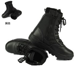 Selling 2015! New men Military Boots special forces tactical desert combat boots outdoor shoes snow boots Infantry special boots