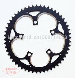 Wholesale Bicycle Parts Bicycle Crank Chainwheel Vitesse BCD T Aluminum alloy chainring crankset black color alloy table