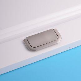 Wholesale chinese fashion adjustable zinc alloy hidden pull hardware fancy ashely cabinet furniture kitchen wardrobe door closet box embedded handle