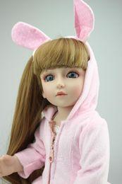 Muñecas del bjd en venta-2016 edición limitada hermosa muñeca SD / BJD muñeca hecha a mano de calidad superior 18inch poseable con las articulaciones