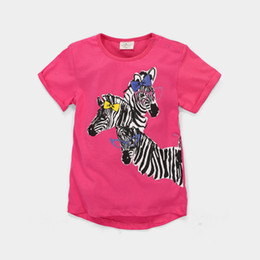 72pcs Girls T-Shirts Kids Clothes Jumping Beans Fashion Zebra Children T Shirt Baby Boys Outfits 100% Cotton Kids Tops Jumper