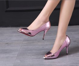 The new silver fish mouth Shoes Sexy stiletto waterproof small pointed toe shoes Zichao Rhinestone sandals