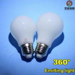 Wholesale Brand New W W W W E27 Led Lights Globe Lamp CRI gt Degree Angle High Bright Led Bulbs Light AC V