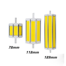 R7S COB led bulb R7S led lights 78mm118mm 189mm 10W 15W 20W light lighting lamp AC85-265V replace halogen floodlight