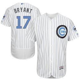 Wholesale Cubs Baseball Jerseys Bryant Memorial Day Flex Base Jerseys Brand Baseball Uniform Men s Chicago Cubs Baseball Apparel