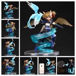 Аниме искусство Онлайн-Pulchra Sword Art Online II Silica 1/8 ПВХ Рисунок SAO Коллекция Модель игрушки куклы аниме Sword Art Online 2