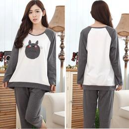 Wholesale Pijama Full Cotton Totoro Pijamas Pajamas Pyjamas For Womens Adult Costumes SleepWear Home For Clothing Plus Size AS XXXL