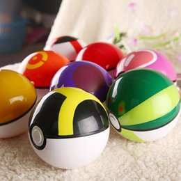 Wholesale New Style ABS Action Anime Figures cm Pikachu Figure PokeBall Fairy Ball Super Ball poke Ball Kids Toys Gift