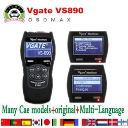 Wholesale VGATE VS890 OBD2 Scanner Code Reader Universal Multi language and Car Diagnostic Tool Scan Vgate MaxiScan VS890