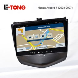 Wholesale Updated Touch Screen Android Car DVD Player for Honda Accord with Mirror Link GPS Radio Stereo Dual Zone Climate