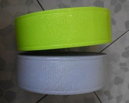 2 meters roll 5cm Flashing tiny satr Reflective PVC Tape Reflective warning safety strip Night reflective flashing