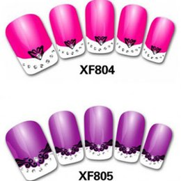 French Style designs 3D Nail Art Sticker Nail Art Decals Stickers 3d Nail Decorations Wholesale Nail Stickers
