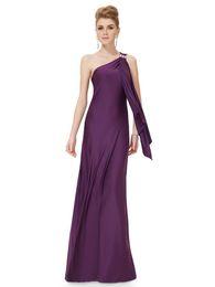 Celebrities Same Women Dress Brand New Elegant Evening Dress Sexy Oblique Shoulder Knit Backless Dress For Party Prom