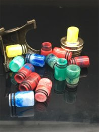 Vaporizer Epoxy resin drip tips Flash Pretty pattern 510 resin drip tips for RDAs Vapor Tank DHL Free Ship
