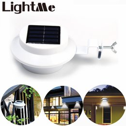 Wholesale New Hot Selling YY103 Art Deco Style Solar Eave Light LEDs IP44 Water Resistant Lm Garden Yard Out Door Lamp