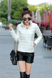 Wholesale Lady slim down jacket of new fund of autumn winters is authentic big yards brief paragraph warm coat collar cultivate one s morality sh