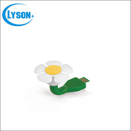 Wholesale Mini Flower Shape Portable USB Fragrance Aroma Diffuser Car Scented Oil Air Freshener Essential Oil Diffuser