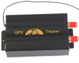 Sistema de alarma a distancia un coche en venta-TK103B perseguidor del GPS del coche del vehículo con teledirigido GSM / GPRS que sigue el dispositivo GPS103B sistema antirrobo del perseguidor de la alarma
