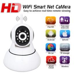 V380 IP Camera P2P Network Camera 720P HD Onvif Smart Wifi Camera Support 64GB TF card