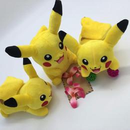 22cm Pikachu Plush Toys High Quality Cute Plush Toys Children's Gift Toy Kids Cartoon Peluche Pikachu Plush Doll Anime