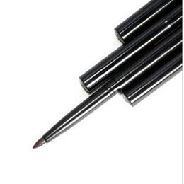 Wholesale automatic telescopic rotary eye liner waterproof anti sweat cool black brown eyeliner pencil