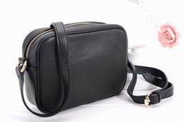 Wholesale High quality Genuine leather mini disco soho bag GG shoulder cross body women s handbag tassel square bag brands colors