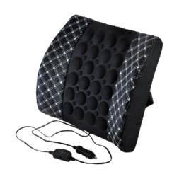 Massage électrique Voiture Support lombaire / assise de voiture coussin de dossier rouge / blanc / beige / gris 4 couleurs Option à partir de oreillers de soutien lombaire fabricateur