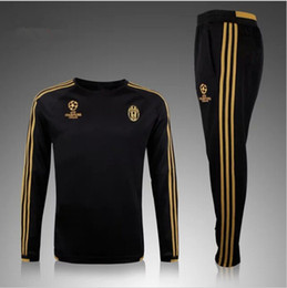 Wholesale hot selling real madrid chelsea soccer tracksuit chandal Survetement football Tracksuit training suit skinny pants Sportswear best qua