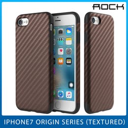 Wholesale Newest Cases For iphone Plus Pro Aesthetic Stylish Carbon Fiber Texured Origin Cell Phone Shell Freeshipping By Rock